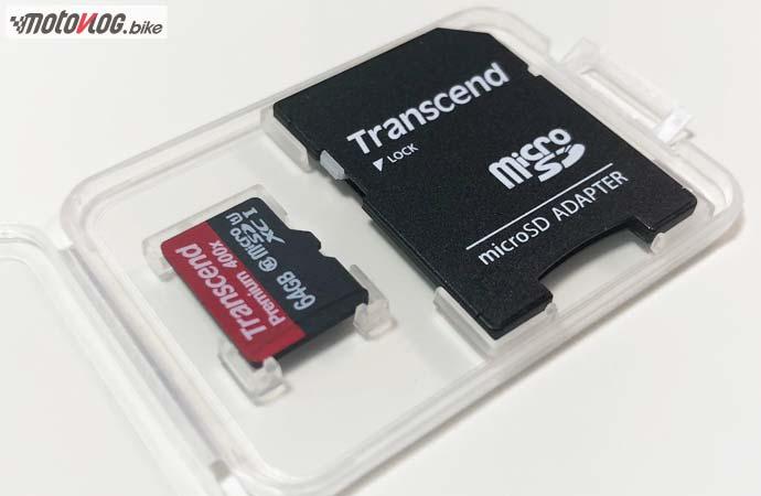 Transcend microSDXCカード